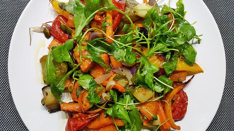 Geroosterde groenten en zoete aardappel uit de oven | Gewoon een foodblog!