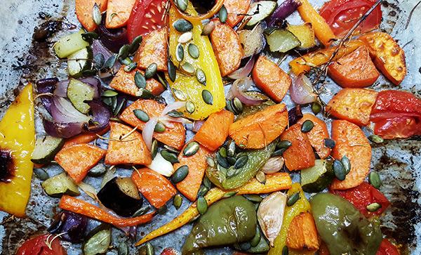 zoete groente