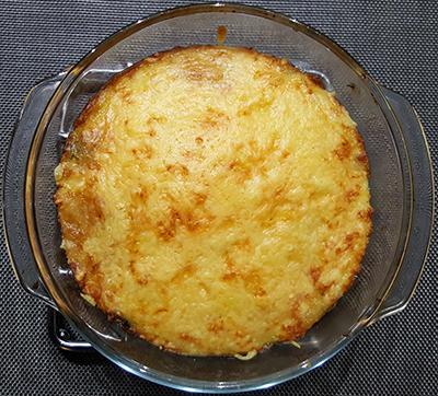 Spinazieschotel met gehakt, tomaat, aardappel en kaas | Gewoon een foodblog!