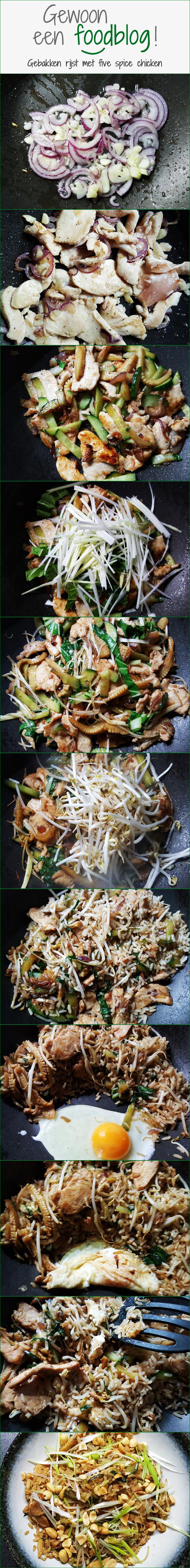 Five spice chicken met gebakken rijst fotoserie| Gewoon een foodblog!