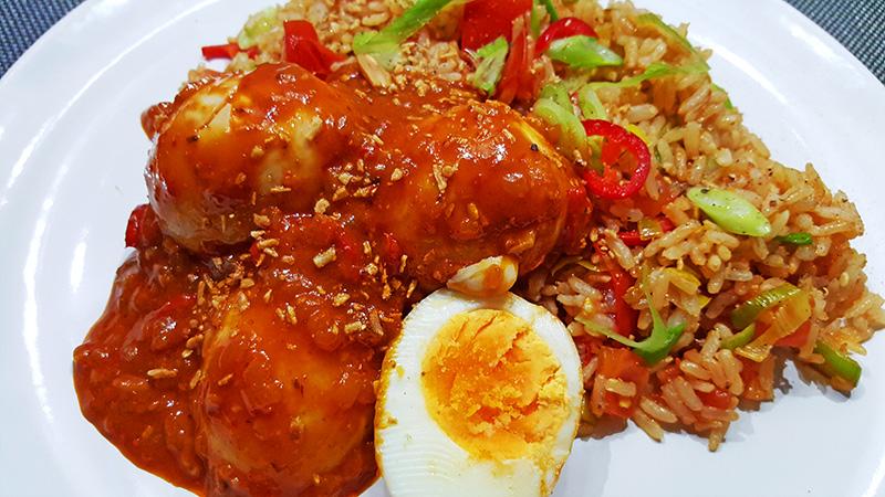 Sambal Goreng Telor | Eet smakelijk! | Gewoon een foodblog!