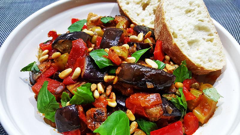 Caponata met aubergine | Gewoon een foodblog!