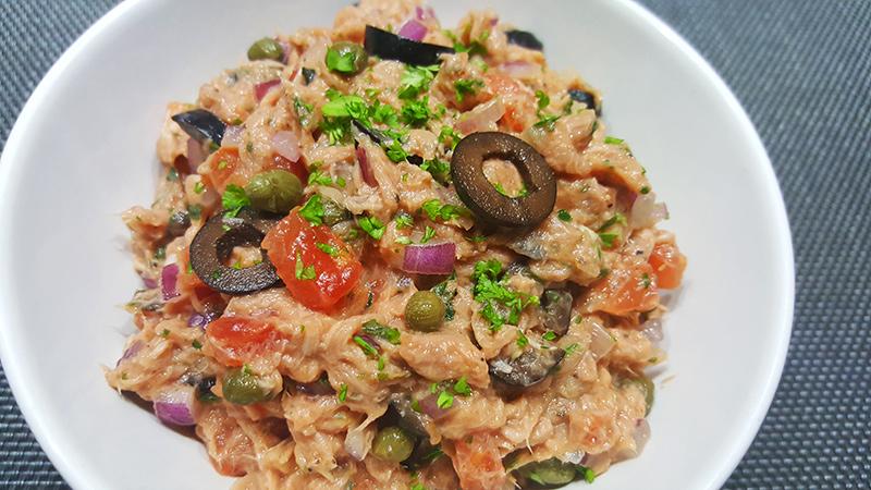 Italiaanse tonijnsalade | Gewoon een foodblog!