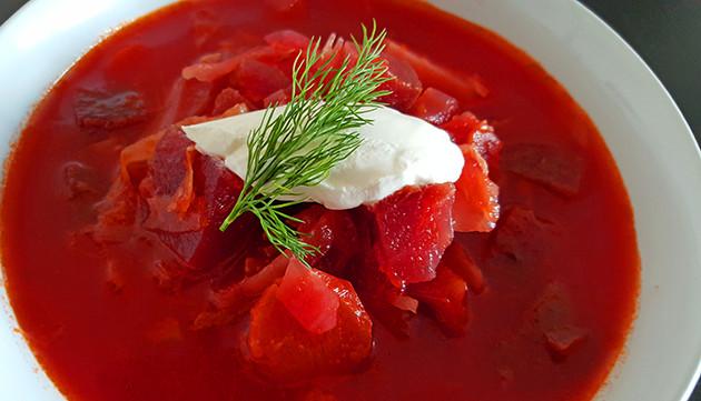 Borscht recept (Rode bietensoep)