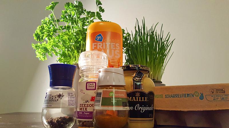 Eiersalade ingrediënten | Gewoon een foodblog!