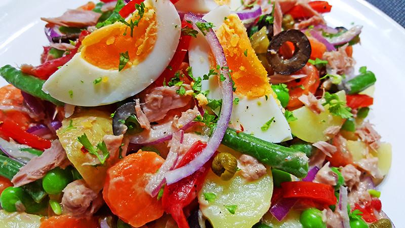 Ensaladilla Rusa (Russische Salade op Spaanse wijze)