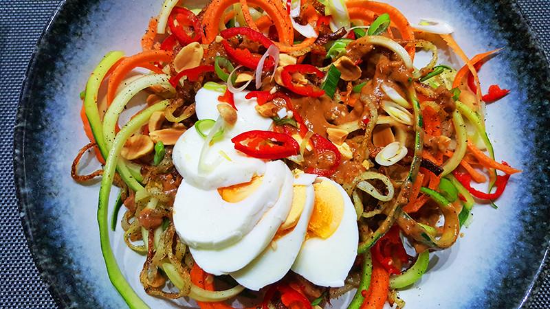 Eerste gerecht met een spiralzier | Gewoon een foodblog!