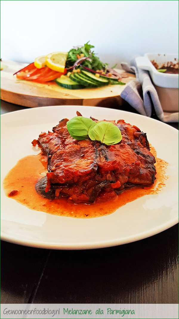 Aubergine ovenschotel (Melanzane alla Parmigiana) | Gewoon een foodblog!
