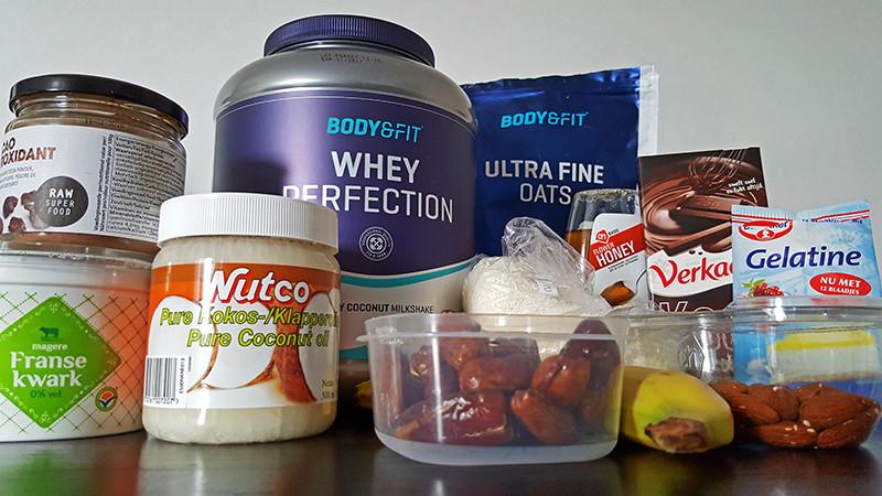 Ingrediënten bananen kwarktaart met kokos en banaan | Gewoon een foodblog!