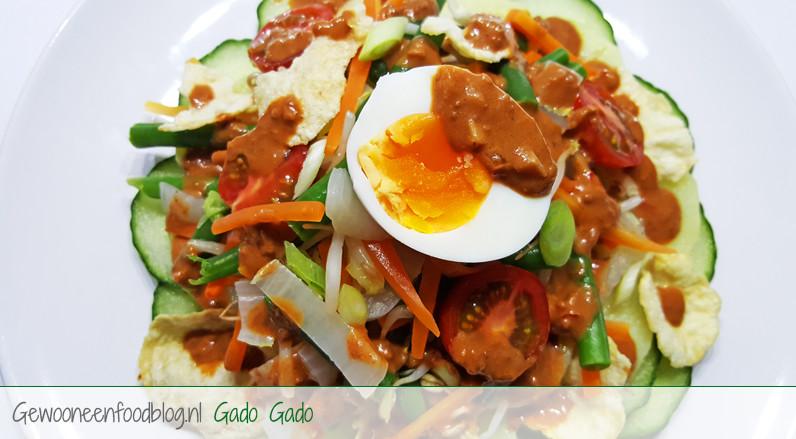 Indonesische Gado Gado |Gewoon Een Foodblog!