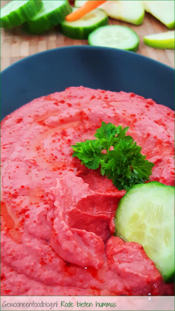 Rode bieten hummus   Gewooneenfoodblog.nl!