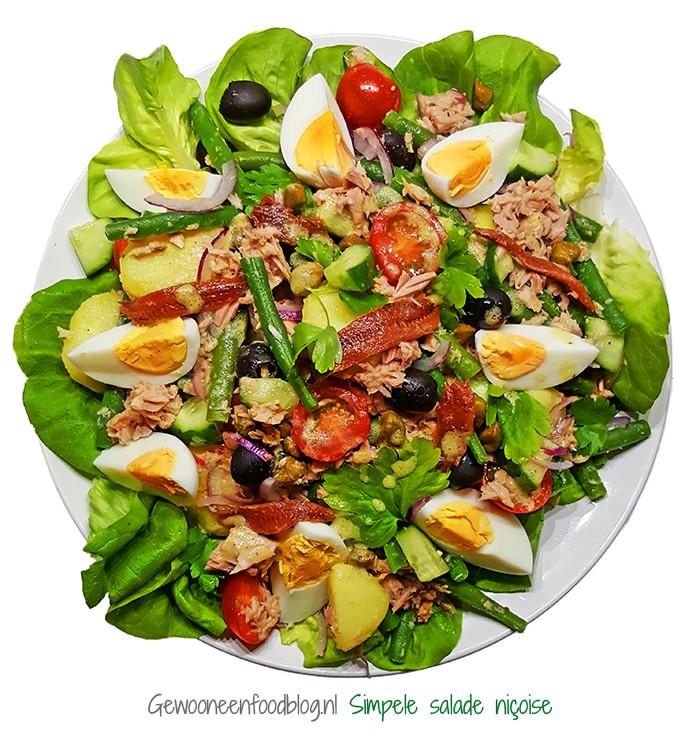 Simpele Salade Niçoise | Gewoon Een Foodblog!