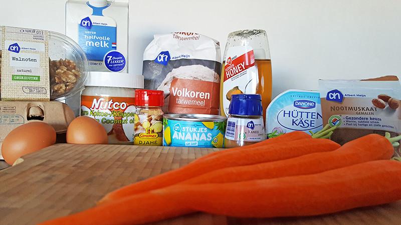 Gezondere worteltaart ingrediënten | Gewoon Een Foodblog!