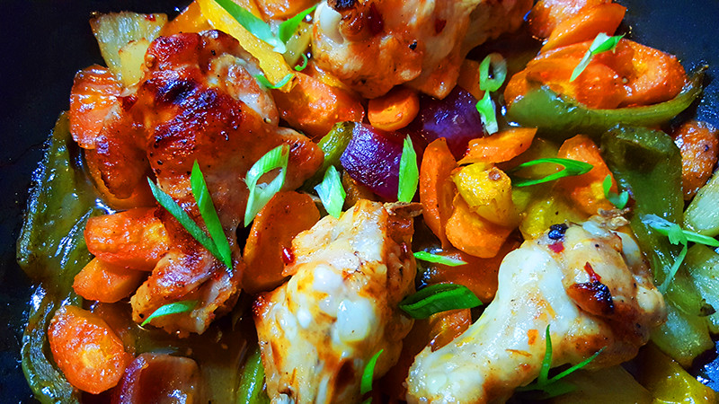 Zoetzure drumsticks met uit de oven | Gewoon Een Foodblog!