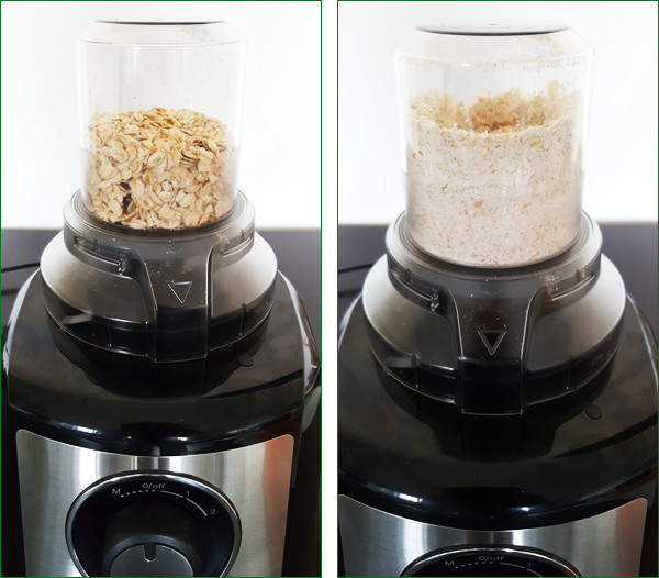Bosch foodprocessor review: Havermout