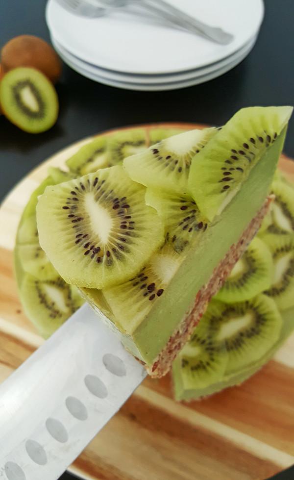 Experiment: Kiwi avocado kwarktaart | Gewoon een foodblog!