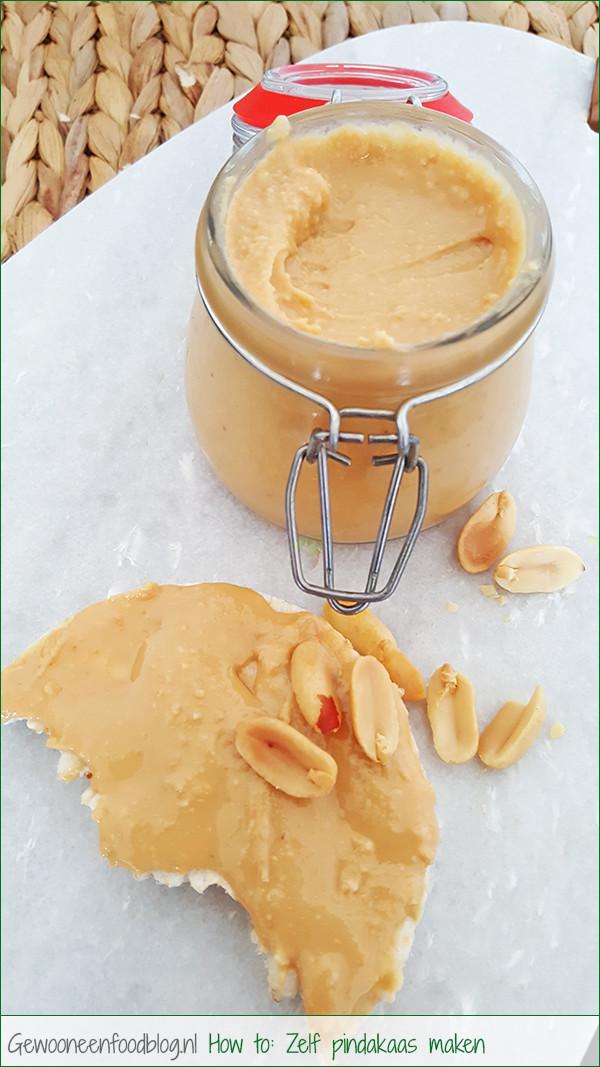 Zelf pindakaas maken | Gewooneenfoodblog.nl