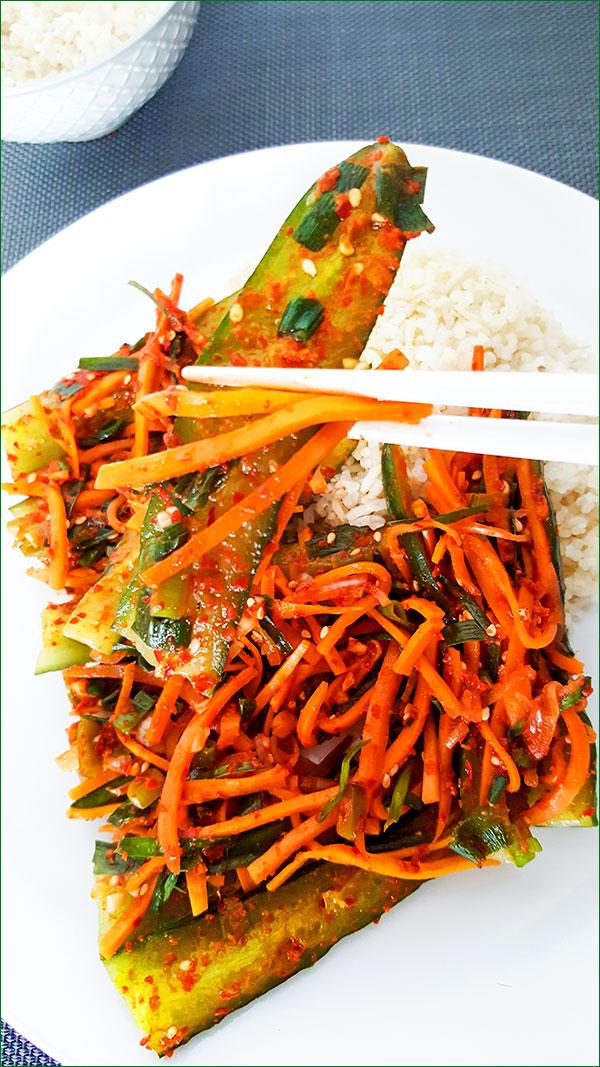 Oi-Sobagi met rijst | Gewooneenfoodblog.nl