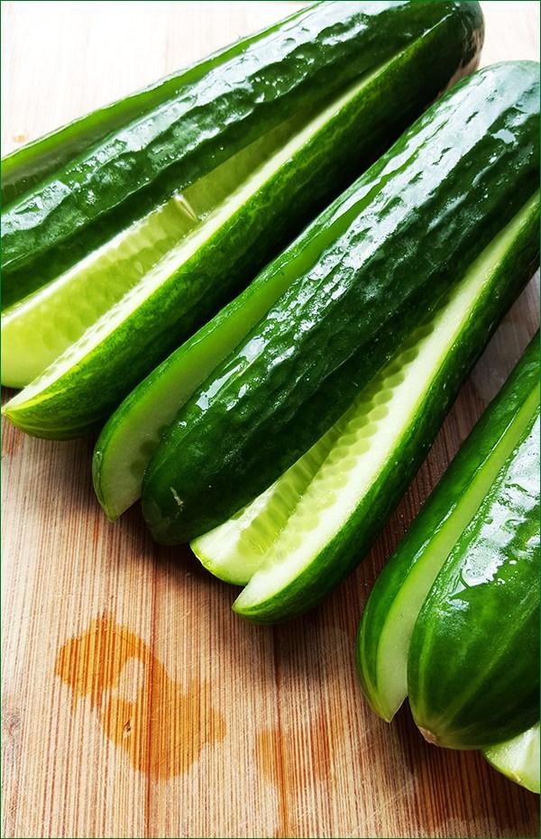 Kimchi van komkommer | Gewooneenfoodblog.nl