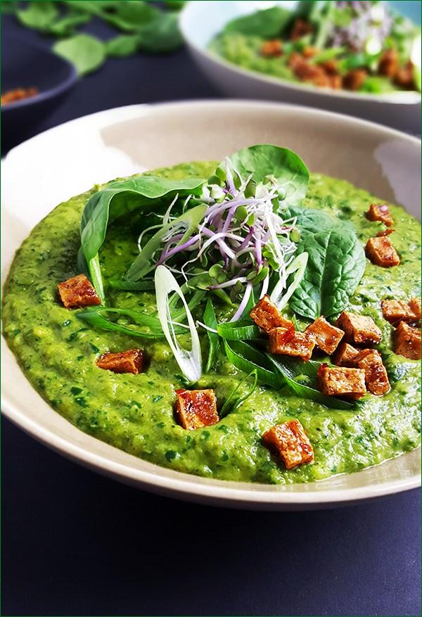 Broccolisoep met tofu | Gewoon een foodblog!