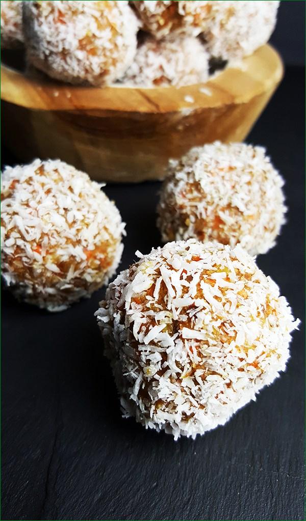 Wortelballetjes met pecannoten en dadels | Gewooneenfoodblog.nl