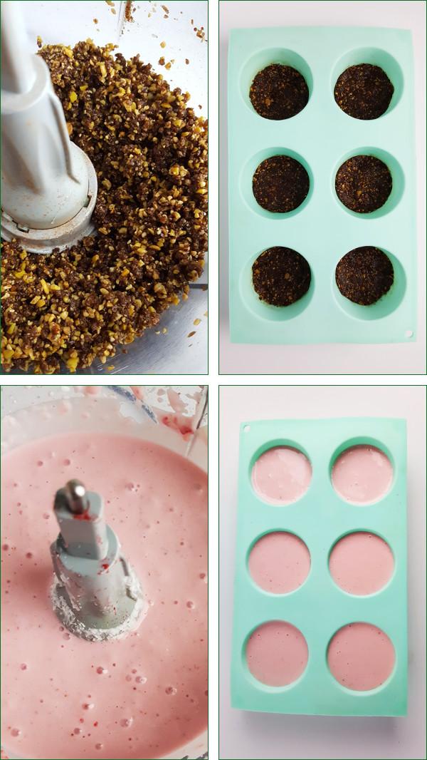 Mini aardbeien kwarktaartjes maken | Gewooneenfoodblog.nl
