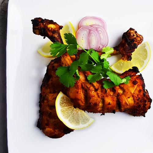 Indiase kip tandoori