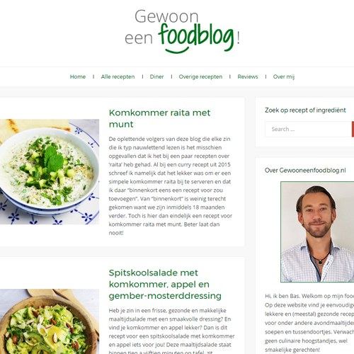 Gewooneenfoodblog 2.0 + Wat voor recepten ontvang je het liefst?