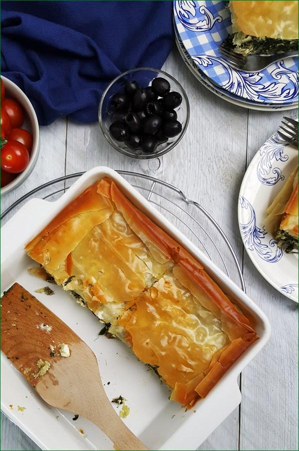 Griekse spinazietaart met feta | Gewoon een foodblog!