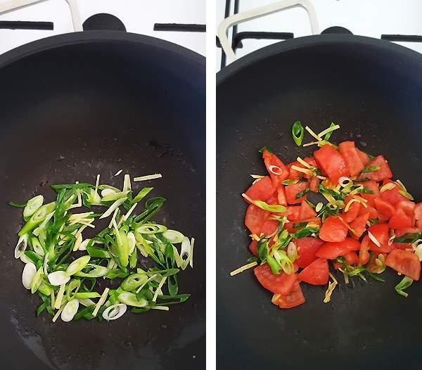 Chinese tomatensoep met ei maken #1 | Gewooneenfoodblog.nl