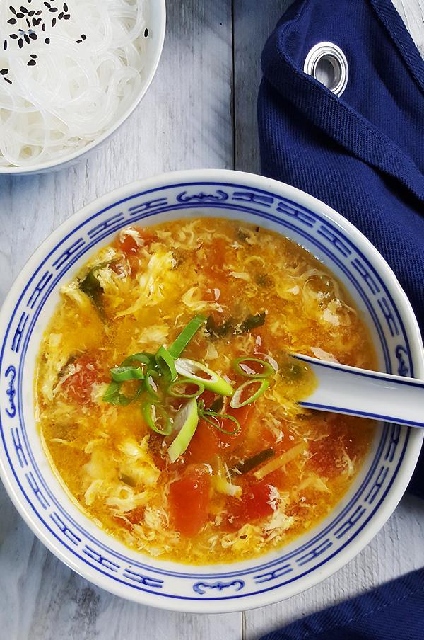 Chinese tomatensoep met ei | Gewoon een foodblog!