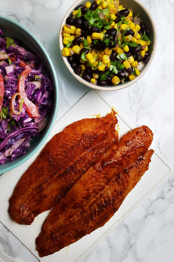Mexicaanse vis taco's maken | Gewooneenfoodblog.nl