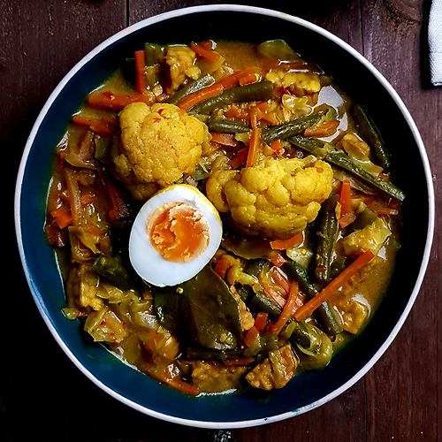 Sajoer lodeh (Indonesische groentecurry) | Gewoon een foodblog!