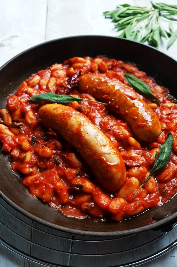 Toscaanse Salsiccia e Fagioli | Gewooneenfoodblog.nl