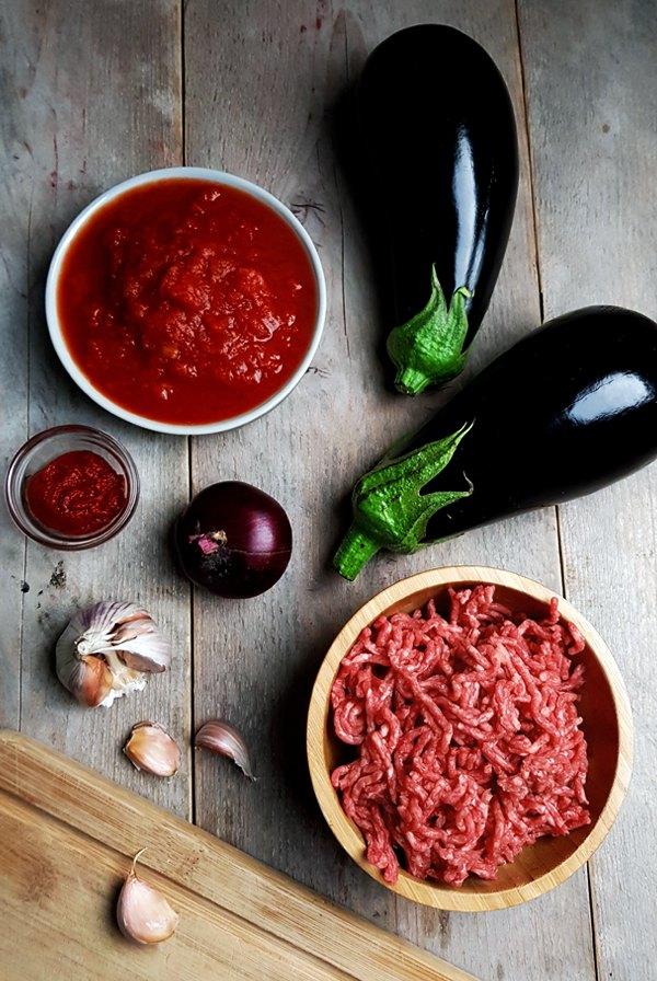 Ingrediënten Griekse moussaka | Gewooneenfoodblog.nl