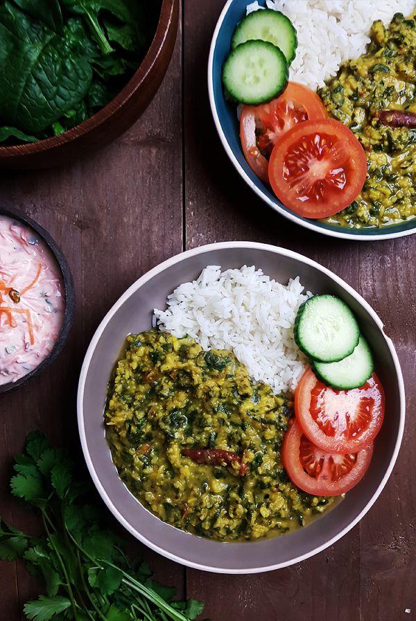 Indiase Dal Palak (Linzen met spinazie) | Gewooneenfoodblog.nl