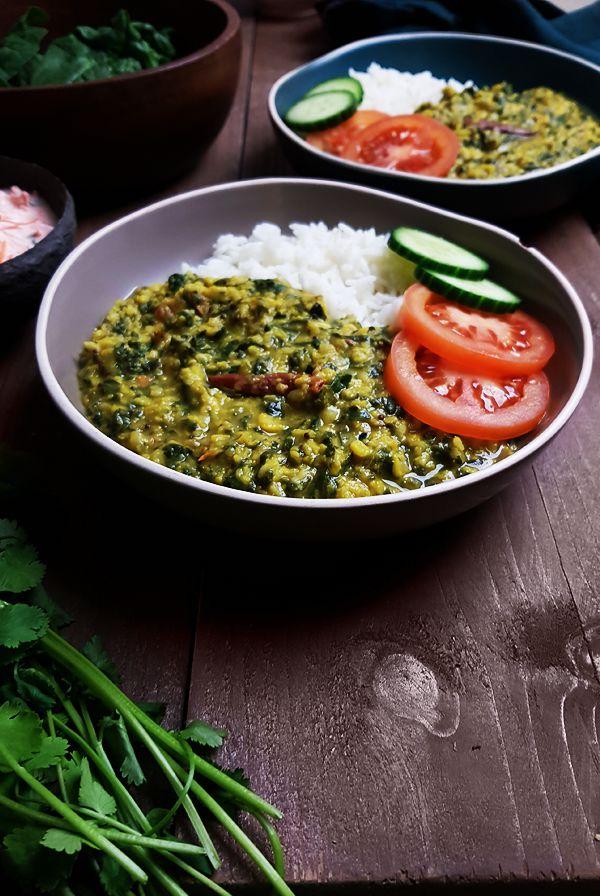 Recept voor linzencurry met spinazie (Dal Palak) | Gewooneenfoodblog.nl