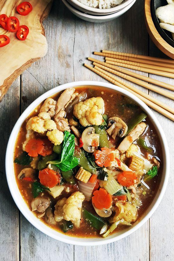 Indonesische gemenge groenten (Cap cai) recept | Gewooneenfoodblog.nl