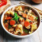 Indonesische gemengde groenten (Cap cai)