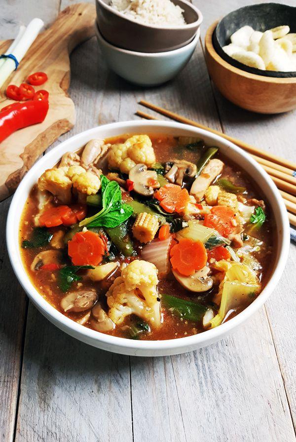 Indonesische gemixte groenten met oestersaus (Cap cai) | Gewoon een foodblog!