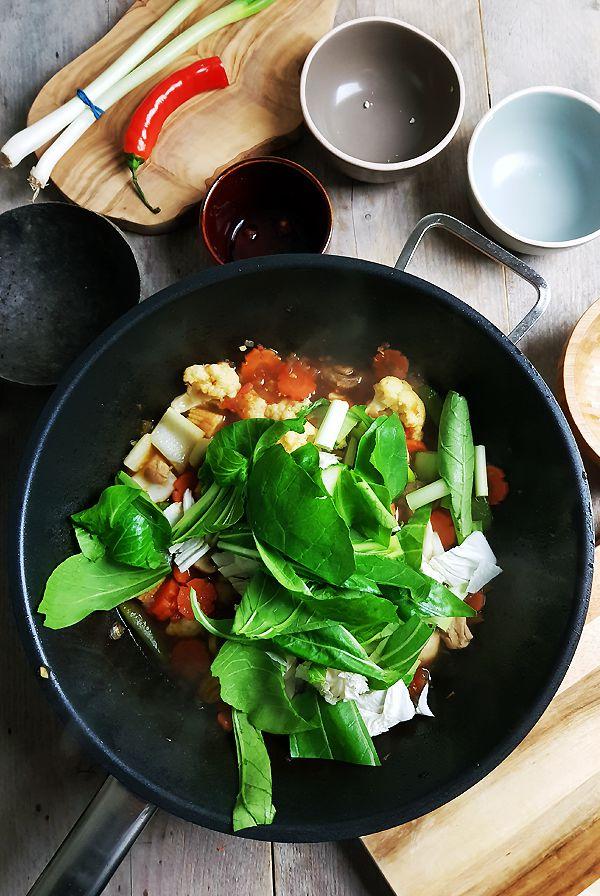 Indische gemengde groenten maken | Gewooneenfoodblog.nl