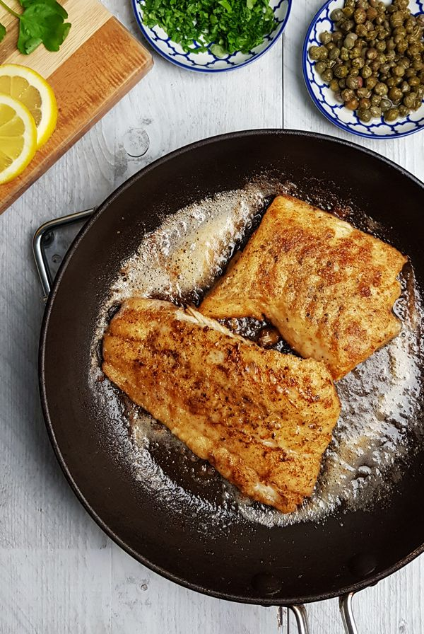 Kabeljauw gebakken 'Meunière' | Gewooneenfoodblog.nl