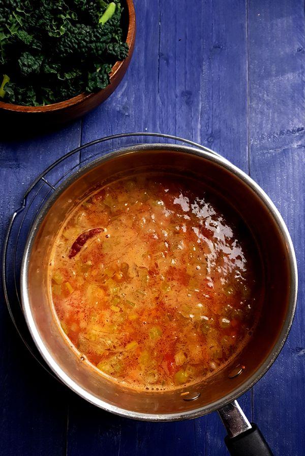Basis van de Toscaanse groentesoep | Gewooneenfoodblog.nl