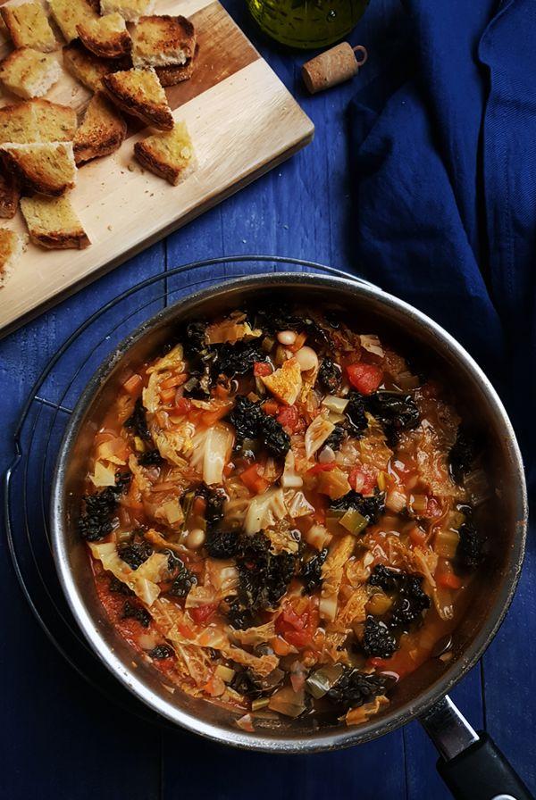 Toscaanse ribollita, nog zonder brood | Gewooneenfoodblog.nl