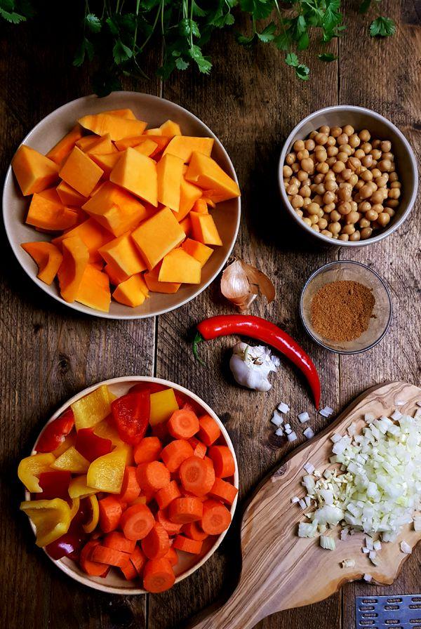 Flespompoensoep met paprika en wortel maken | Gewooneenfoodblog.nl