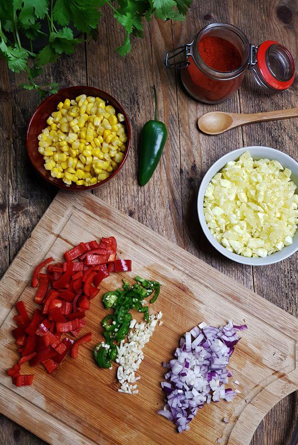 Mexicaanse gevulde courgette maken | Gewoon een foodblog!