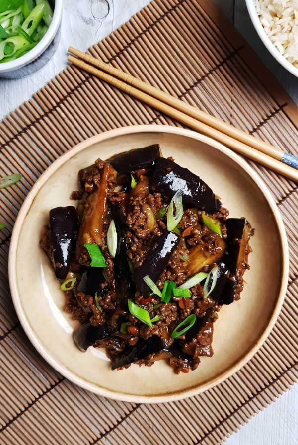 Pittige Szechuan aubergines | Gewooneenfoodblog.nl