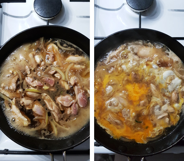 Oyakodon maken | Gewooneenfoodblog.nl
