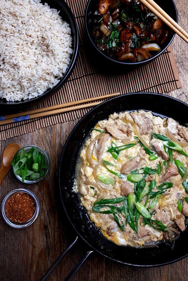 Japanse ouder-en-kind rijst kom maken | Gewooneenfoodblog.nl