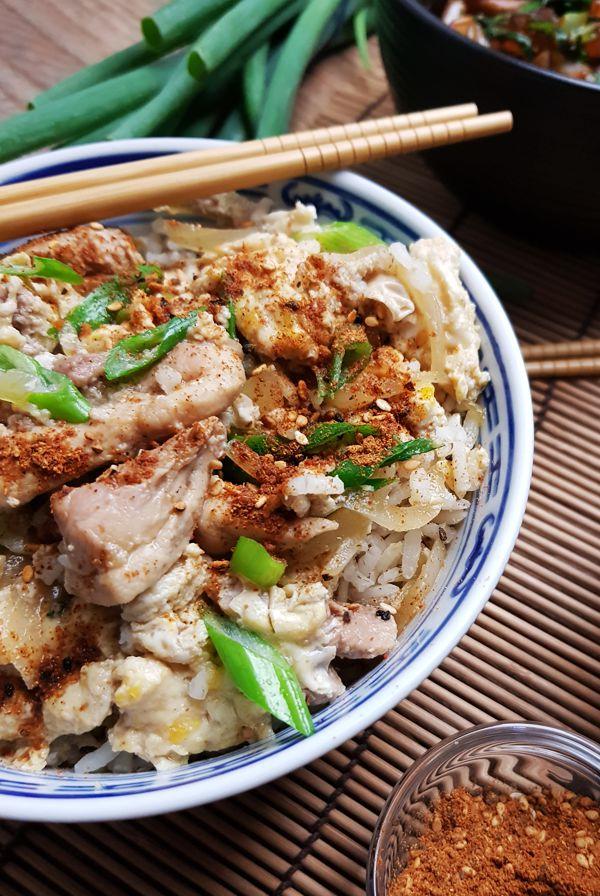 Zelf Oyakodon maken (Kip met ei en rijst) | Gewoon een foodblog!